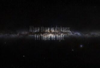 nerede karanlık varsa