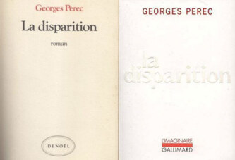 La disparition George Perec